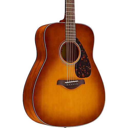 yamaha fg800 folk acoustic guitar sand burst guitar center