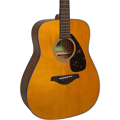 yamaha fg800 folk acoustic guitar vintage tint guitar center