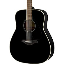 FG820 Dreadnought Acoustic Guitar Black