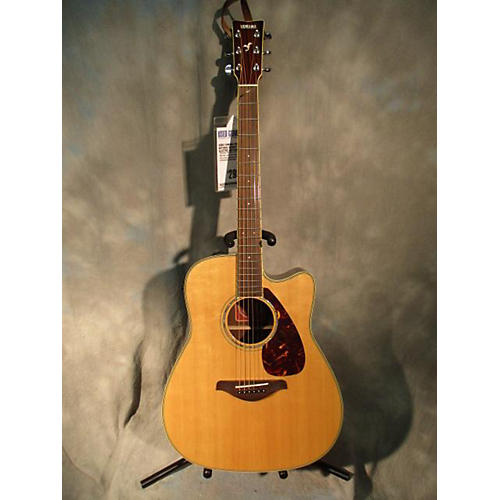 used yamaha fgx700sc acoustic electric guitar guitar center. Black Bedroom Furniture Sets. Home Design Ideas