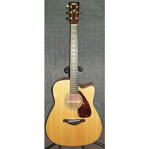 Yamaha FGX700SC BAD ELECTRONICS Acoustic Guitar-thumbnail