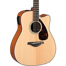 FGX700SC Solid Top Cutaway Acoustic-Electric Guitar Natural