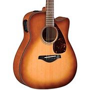 Yamaha FGX700SC Solid Top Cutaway Acoustic-Electric Guitar
