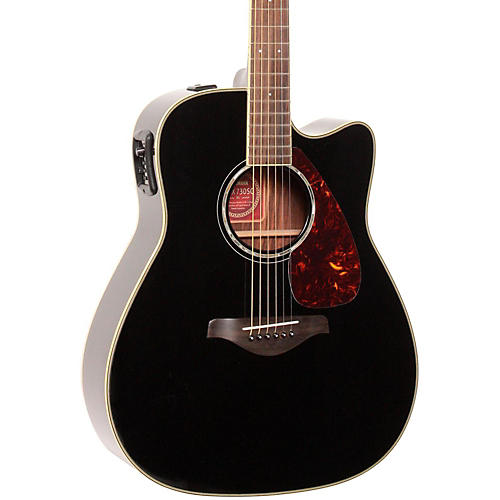 Yamaha FGX730SC Solid Top Acoustic-Electric Guitar-thumbnail