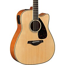FGX820C Dreadnought Acoustic-Electric Guitar Natural