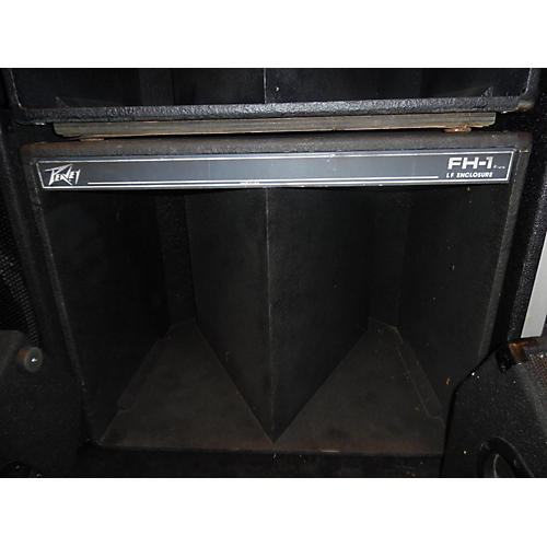 Peavey FH1 ENCLOSURE BLACK WIDOW Unpowered Subwoofer-thumbnail