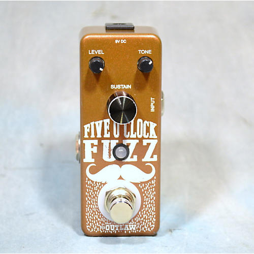 Outlaw Effects FIVE O'CLOCK FUZZ Effect Pedal-thumbnail