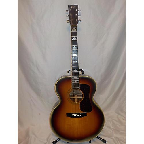 used fender fj70 acoustic guitar guitar center. Black Bedroom Furniture Sets. Home Design Ideas
