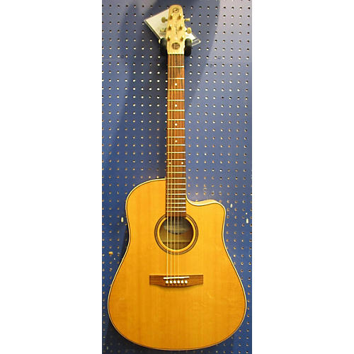 Seagull FLAME MAPLE CW EQ Q1T 25TH ANNIVERSARY Acoustic Electric Guitar Natural