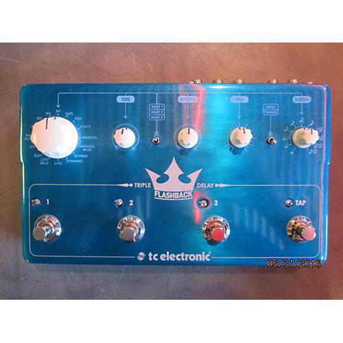 TC Electronic FLASHBACK TRIPLE DELAY Effect Pedal-thumbnail