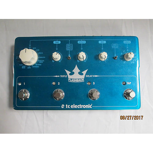 TC Electronic FLASHBACK TRIPLE DELAY Effect Pedal-thumbnail