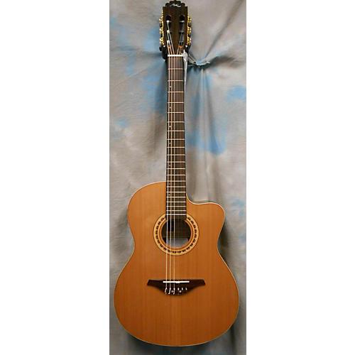 Manuel Rodriguez FLM0D500 Moderna Classical Acoustic Electric Guitar Natural