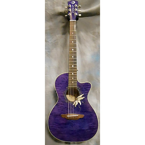 Luna Guitars FLORA Acoustic Electric Guitar