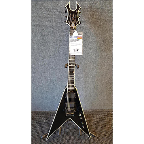 B.C. Rich FLYING V DELUXE Solid Body Electric Guitar-thumbnail