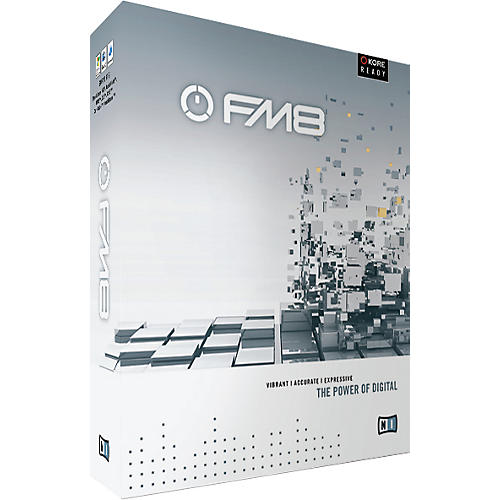 Native Instruments FM8 Soft Synth Update
