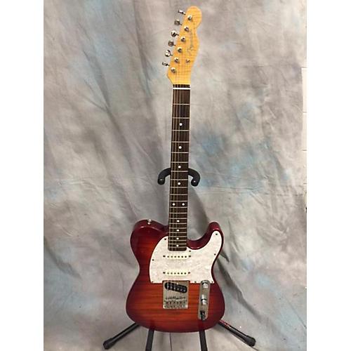 Fender FOTO FLAME NASHVILLE TELECASTER Solid Body Electric Guitar