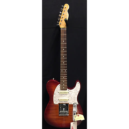 Fender FOTO FLAME TELECASTER MIJ Solid Body Electric Guitar-thumbnail