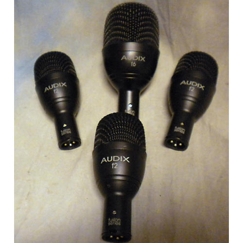 Audix FP Quad 4-Piece Percussion Microphone Pack-thumbnail