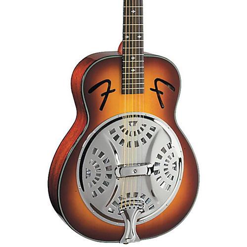 Fender FR-50 Resonator Guitar Sunburst