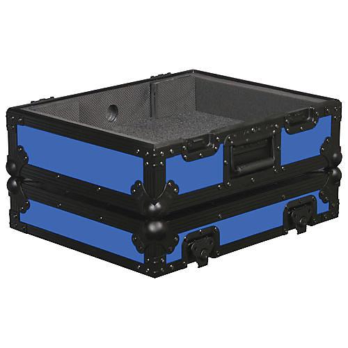 Odyssey FR1200BK Designer Series Turntable Case Blue