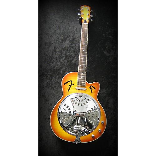 Fender FR50CE 2 TONE BURST Acoustic Electric Guitar-thumbnail