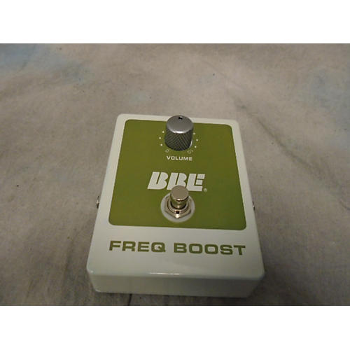 BBE FREQ BOOST Effect Pedal