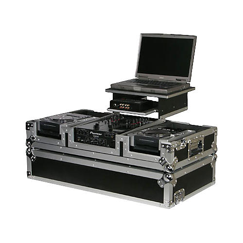 Odyssey FRGS10CDIW Flight Zone Glide Style Coffin For Large Format CD Players and A 10