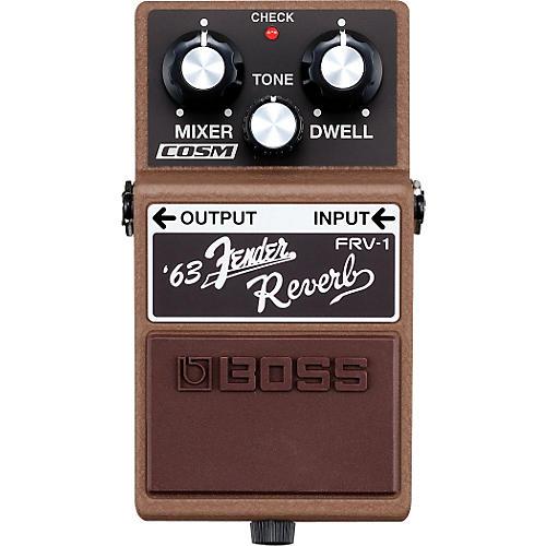 Boss FRV-1 '63 Fender Reverb Guitar Effects Pedal-thumbnail