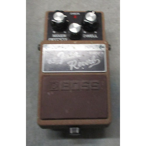 Boss FRV1 Fender 63 Reverb Effect Pedal-thumbnail