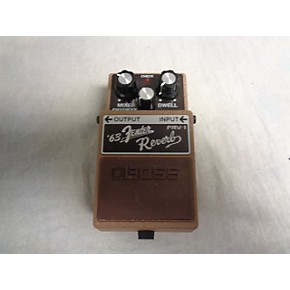 used boss frv1 fender 63 reverb effect pedal guitar center. Black Bedroom Furniture Sets. Home Design Ideas