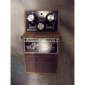 Reverb Effect Pedal : used boss frv1 fender 63 reverb effect pedal guitar center ~ Hamham.info Haus und Dekorationen