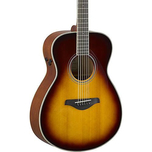 yamaha fs ta transacoustic small body acoustic electric guitar brown sunburst guitar center. Black Bedroom Furniture Sets. Home Design Ideas