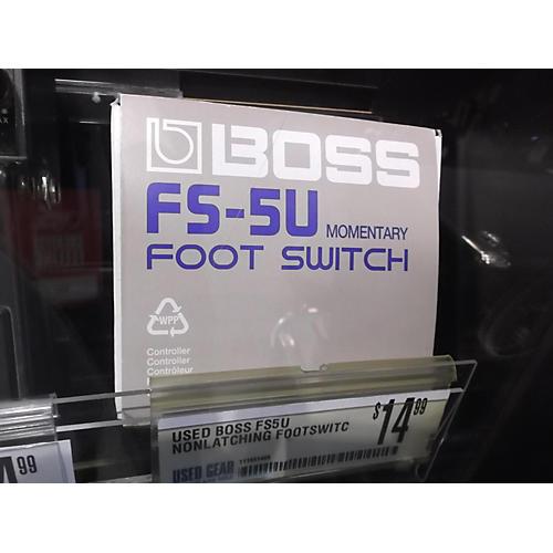 Boss FS5U Nonlatching Footswitch Sustain Pedal-thumbnail