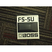 Boss FS5U Nonlatching Footswitch Sustain Pedal