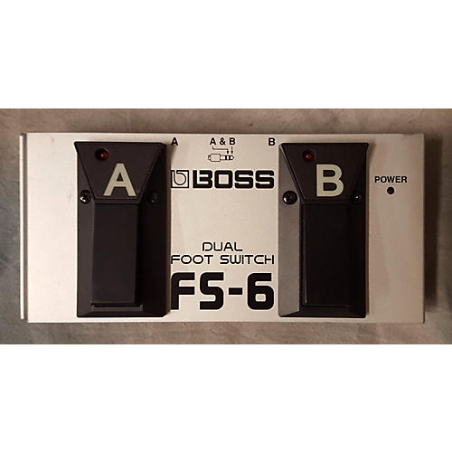 Boss FS6 Dual Footswitch Sustain Pedal-thumbnail