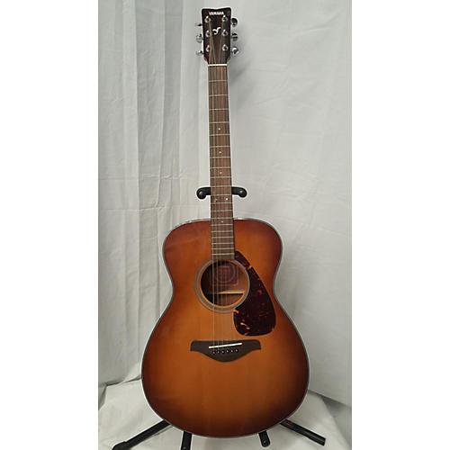 used yamaha fs700s acoustic guitar sandburst guitar center. Black Bedroom Furniture Sets. Home Design Ideas