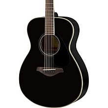 FS820 Small Body Acoustic Guitar Black