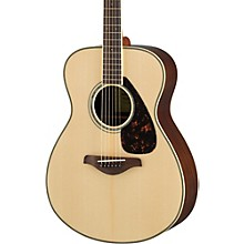 FS830 Small Body Acoustic Guitar Natural