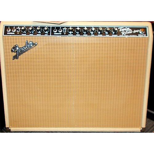Fender FSR 1965 DELUXE REVERB 85W 2X12 Tube Guitar Combo Amp-thumbnail