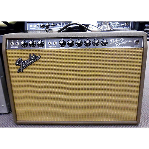 Fender FSR 1965 Deluxe Reverb 22W 1x12 Limited Edition BROWNIE Tube Guitar Combo Amp