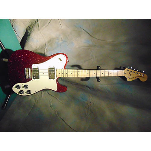 Fender FSR 1972 Telecaster Deluxe Candy Apple Red Solid Body Electric Guitar Candy Apple Red