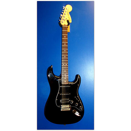 Fender FSR American Special Stratocaster Black Solid Body Electric Guitar-thumbnail