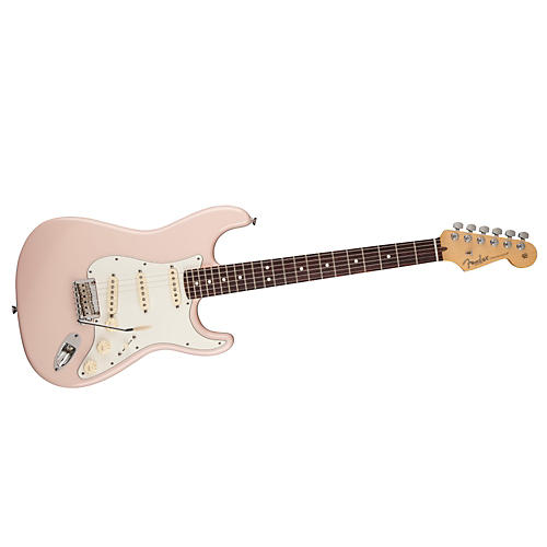 Fender FSR American Standard Stratocaster Electric Guitar Shell Pink Rosewood Fingerboard