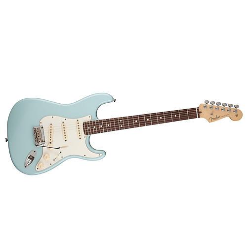 Fender FSR American Standard Stratocaster Electric Guitar Sonic Blue Rosewood Fingerboard