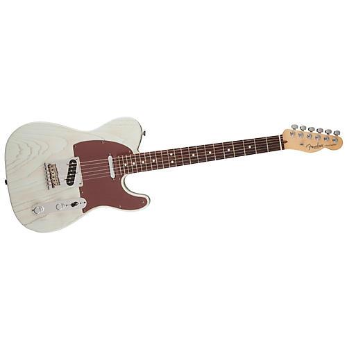 Fender FSR American Telecaster Rustic Ash Electric Guitar-thumbnail