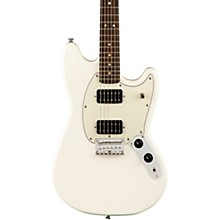 Squier FSR Bullet Mustang HH Electric Guitar Level 1 Olympic White