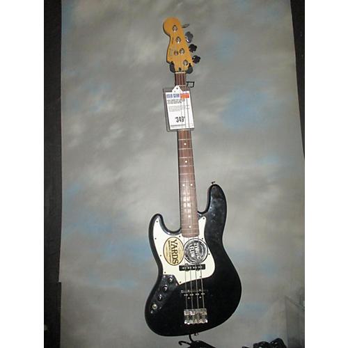 used fender fsr standard jazz bass electric bass guitar black and white guitar center. Black Bedroom Furniture Sets. Home Design Ideas