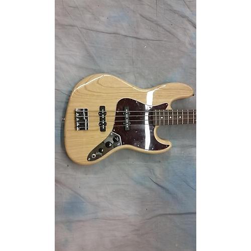 Fender FSR Standard Jazz Bass Natural Electric Bass Guitar-thumbnail