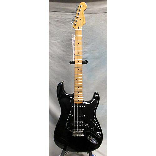 Fender FSR Standard Stratocaster HSS Black Solid Body Electric Guitar Black
