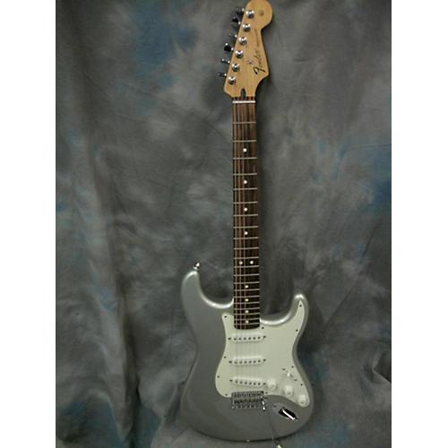 Fender FSR Standard Stratocaster Solid Body Electric Guitar Inca Silver